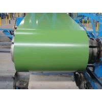 Colour Coated Galvalume Steel Sheet Lotus Green Color Commercial Sheet Metal Coil Manufactures