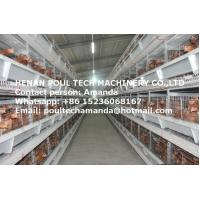 Poultry Farm Equipment Hot Galvanized Cage H Frame Battery Chicken Coop & Layer Cage & Egg Hen Cage  for Chicken House Manufactures