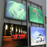 High Brightness CYMK Backlit Fabric Lightbox For Movie Poster Display Manufactures