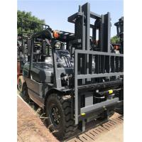 Pneumatic Tire Diesel Forklift Truck Equip Efficient Engine Heavy - Duty Axle Manufactures