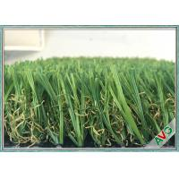 Simulation Indoor Artificial Grass 12200 Dtex Green Color Indoor Fake Grass Manufactures