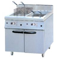 Quality JUSTA 40L Electric Two Tank Deep Fryer With Cabinet ZH-RCX2 Western Kitchen Equipment for sale
