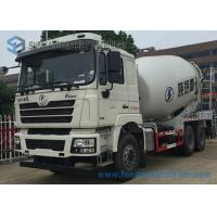White Concrete Mixing Transport Truck 8 Cubic Meter SHACKMAN 6X4 Truck Manufactures