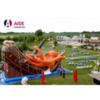 Kids Outdoor Playground Inflatable Sports Equipment Themed Octopus Slide Manufactures