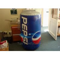 Quality Giant Pepsi Cola Inflatable Bottles / Cans Customized Size For Advertisements for sale