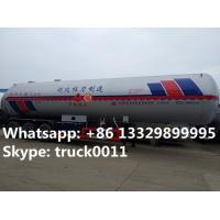 Quality HOT SALE! 2017s new CLW 59.53m3 propane gas tank semitrailer for sale, factory for sale