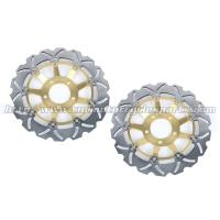 CNC Aluminum Motorcycle Brake Disc / Floating Brake Rotor GSF BANDIT 600 Manufactures