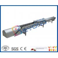 Screw Conveyor Design Fruit Processing Equipment With SUS304 Stainless Steel Manufactures