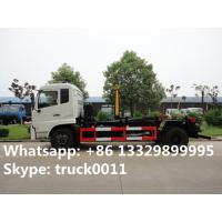 high quality and competitive price 16tons hook lift garbage truck for sale, 2017s best price dongfeng hook lifting truck Manufactures
