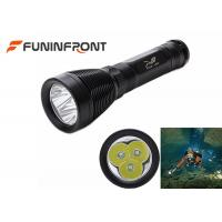 Quality 3000LMs CREE T6 Underwater Diving Torch Light Led Flashlightfor Scuba Diver for sale