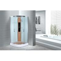 Comfort Waterproof Curved Corner Shower Enclosure Kits Free Standing Type Manufactures