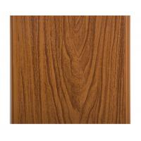 Glossy Printing Wood Grain Wall Panels , Wood Wall Covering Panels Soundproof Manufactures