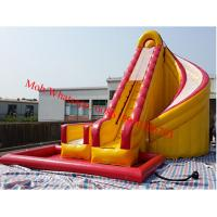 hippo inflatable water slide portable water slide bounce round water slide Manufactures