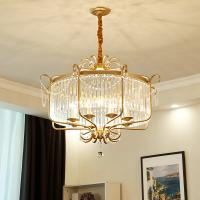 Buy cheap Victorian Crystal pendant light Kitchen Dining room Gold Pendant Lamp (WH-AP-102 from wholesalers