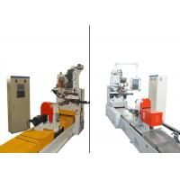 SS Wedge Wire Screen Welding Machine For Filter Cylinders Liquid Separation Manufactures