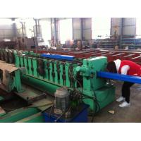 8 - 10 m / min Square Downspout Roll Forming Machine Fly Saw Cutting Type Manufactures