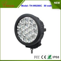 7 inch IP67 high lumens 90w led driving light Spot light lamp for offroad jeep,4x4 tractor Manufactures