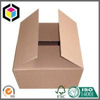 Plain Brown Unprinted Corrugated Packaging Box; Wholesale Plain Shipping Carton Manufactures