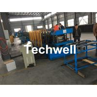 Hydraulic Pre - Punching Ladder Cable Tray Making Machine 0-15m/min Manufactures