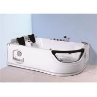 Indoor Jacuzzi Soaking Tub , Stand Alone Whirlpool Tub With Computer Controller Manufactures