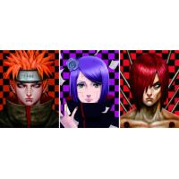 Japanese Anime Change Effect 3D Lenticular Picture Optical Grade PET / APET Film Material Manufactures