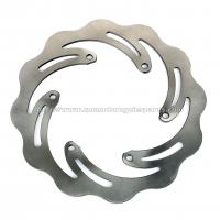 Solid Motorcycle Brake Disc Stainless Steel Made For Racing Bike Parts Manufactures