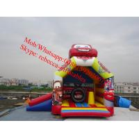 inflatable car bouncy combo inflatable bouncer slide Manufactures