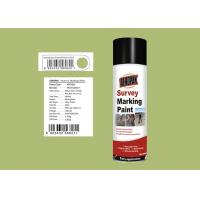 AEROPAK 500ML bean green Survey Marking Spray Paint for land with MSDS certificat Manufactures