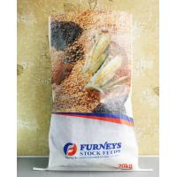 Transparent BOPP PP Woven Feed Bags , Laminated Woven Polypropylene Bags Manufactures