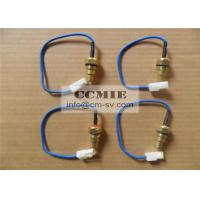 Quality Bulldozer Engine Water Temperature Sensor Shantui Spare Parts With Metal for sale