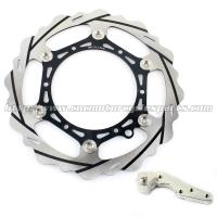 270mm Motorcycle Brake Disc Husaberg TE 125 FE 250 350 And Colorful Bracket Manufactures