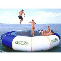 PVC Tarpaulin Inflatable Trampoline 2.5m Outdoor Inflatable Bouncer Manufactures