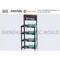 Portable Plastic Display Shelves , Merchandise Display Racks For Retail Stores Specialty Shops Manufactures