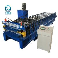 Box type Metal Profile Roll Forming Machine with coil decoiler Manufactures