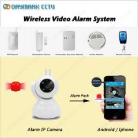 RF433 door pir sensors linkage alarm ip camera wireless remote control support Manufactures