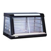 Organic Glass Food Warmer Showcase 5 With Black Painting For Kitchen Manufactures