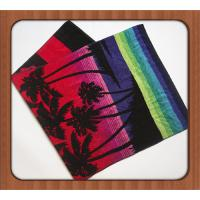 Supply 100% microfiber promotion custom printed beach towels Manufactures