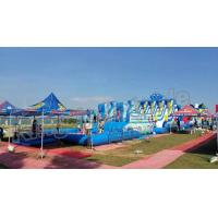 Quality Backyard Big Amazing Inflatable Water Parks Kid And Adult Outdoor Games for sale