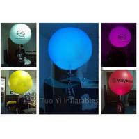 Quality Inflatable Outdoor Backpack Advertising Balloon With Colorful LED Lighting for sale