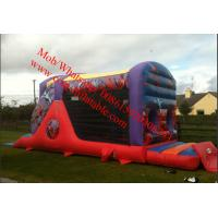 Action Hero Fun Run Inflatable Obstacle Course Manufactures