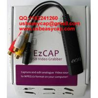 Mac Ezcap USB Easycap Video Capture Card Really for Mac Vista Win7 XP Windows China Factory 2861 solutions DC60+ + for sale