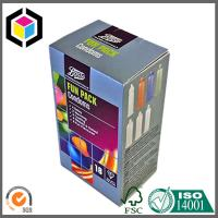 Small Size CMYK Full Color Offset Print Carton Box; Condom Carton Packaging Box Manufactures