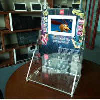 7 inch HD LCD acrylic counter display Manufactures