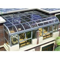 Quality DIY Design Aluminium Frame Greenhouse Thermal Break Insulation System for sale