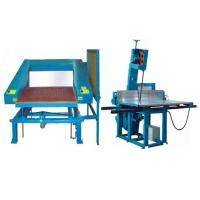 Manual Polyurethane Foam Angel Contour Cutting Machine for Special- shaped Sponge Manufactures