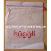 White Plastic Shopping Bag White Drawstring Backpack Eco Friendly Manufactures