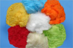 1.2d x 38mm Dope dyed polyester staple fiber(Color PSF) Manufactures