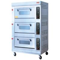 Energy-Saving Electric Baking Ovens With 3 Layer 9 Trays For Catering Industry Manufactures