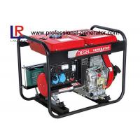 Battery Powered Reliable Durable 5kw Open Diesel Generator AC Single Phase Manufactures