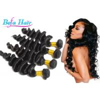 """No Processed Black People Virgin Peruvian Hair  8"""" -36"""" Length Thick Manufactures"""